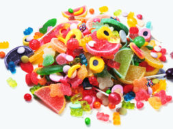 Pile of colorful candies