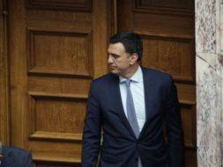 discussion; lawmaker; Parliament; plenum; Vassilis Kikilias; Βασίλης Κικίλιας; Βουλή; Κοινοβούλιο; βουλευτής; ολομέλεια; συνεδρίαση;