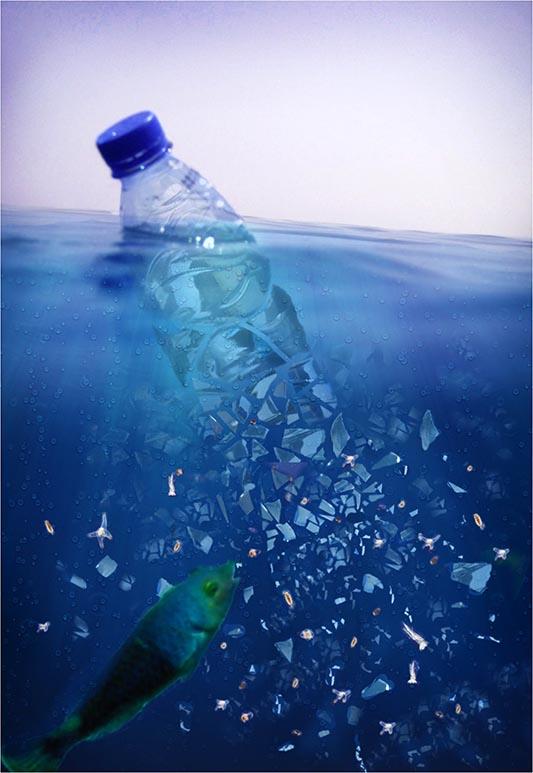 Ακίνδυνα τα πλαστικά σωματίδια στο νερό