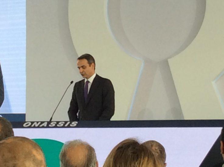 Ο χαιρετισμός του πρωθυπουργού στην τελετή του Ωνάσειου Μεταμοσχευτικού Κέντρου