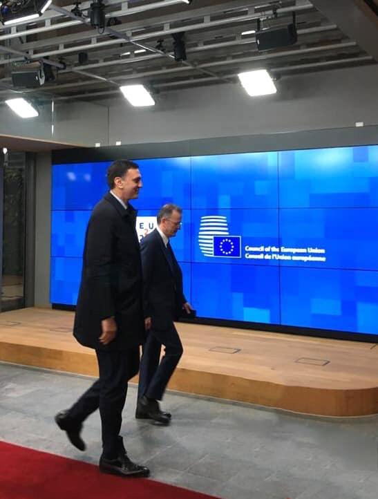 Ο Vassilis Kikilias  στις Βρυξέλλες