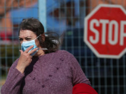 The first coronavirus case in Athens is confirmed, Greece – 27 Feb 2020