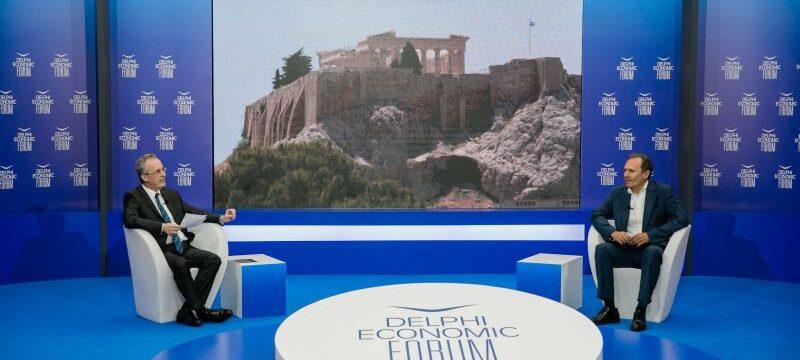 Θ. ΤΡΥΦΩΝ @ DELPHI ECONOMIC FORUM (1)