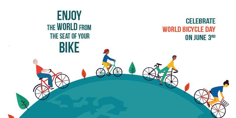 Εκδήλωση για την Παγκόσμια Ημέρα Ποδηλάτου