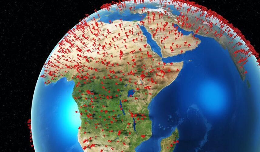 Τα κρούσματα του κορωνοϊού παγκοσμίως