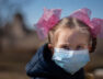 Coronavirus children in mask