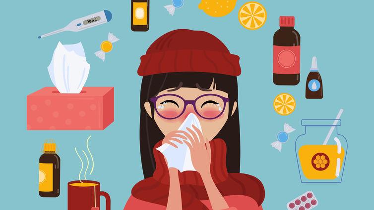 Εποχική γρίπη και πώς να θωρακίσουμε το ανοσοποιητικό μας
