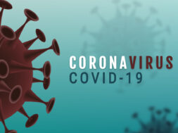 Corona Virus banner illustration – Microbiology And Virology Concept –