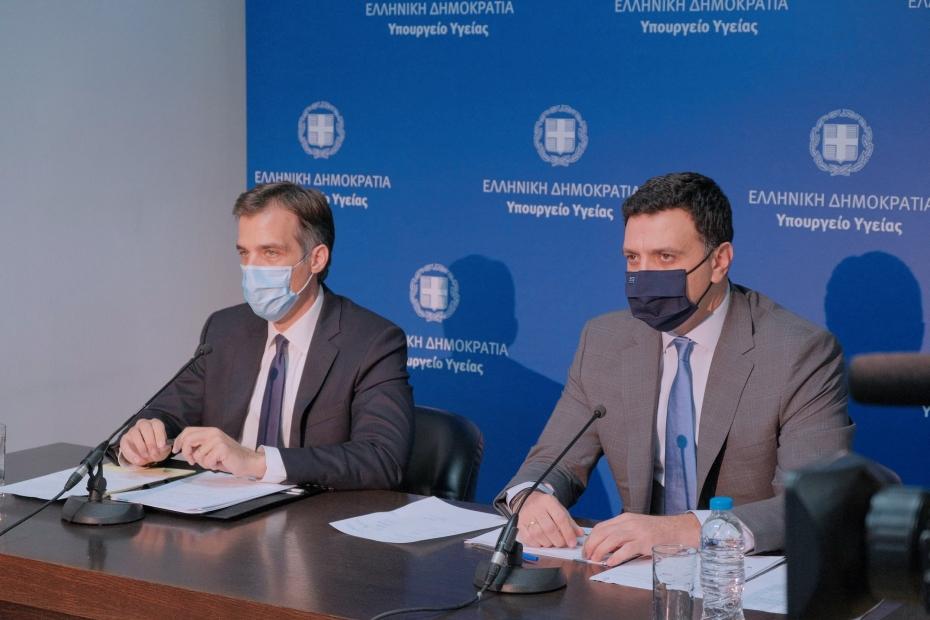 Β. Κικίλιας: Η Ελλάδα είναι έτοιμη για τον σταδιακό εμβολιασμό του πληθυσμού
