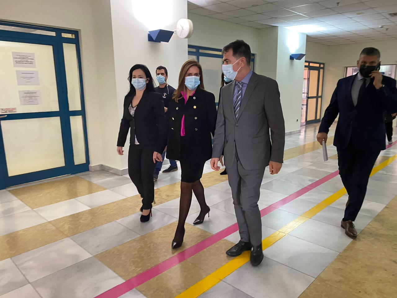 Επίσκεψη της Υφυπουργού υγείας στο Νοσοκομείο Αττικόν
