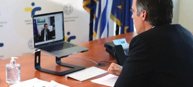 Ο πρόεδρος του Εθνικού Οργανισμού Δημόσιας Υγείας κ. Παναγιώτης Αρκουμανέας