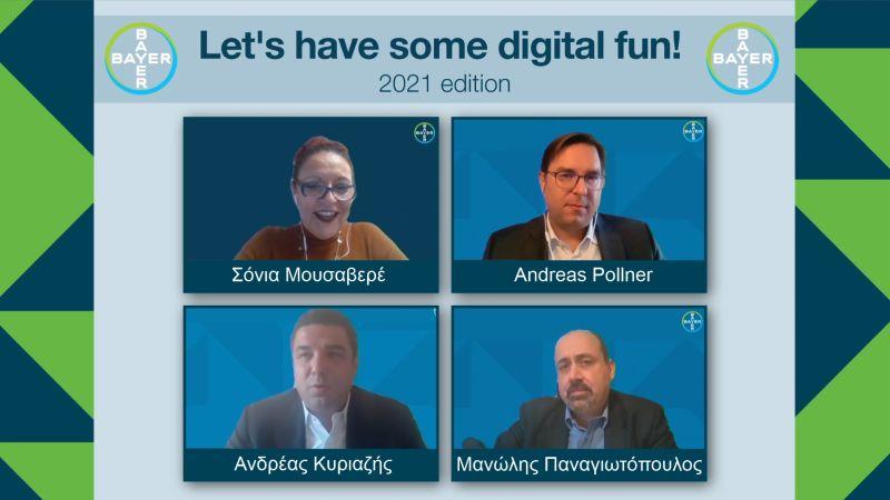 Εορταστική virtual συνάντηση της Bayer Hellas