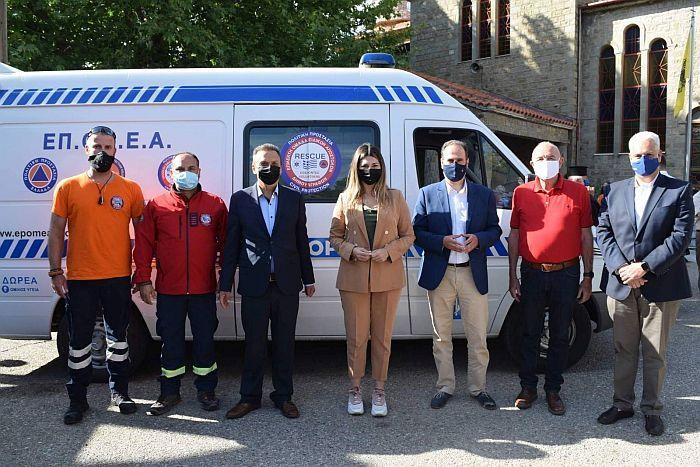 ΥΓΕΙΑ: Δωρεάν διάθεση ασθενοφόρου στην Επίλεκτη Ομάδα Ειδικών Αποστολών Ελλάδος