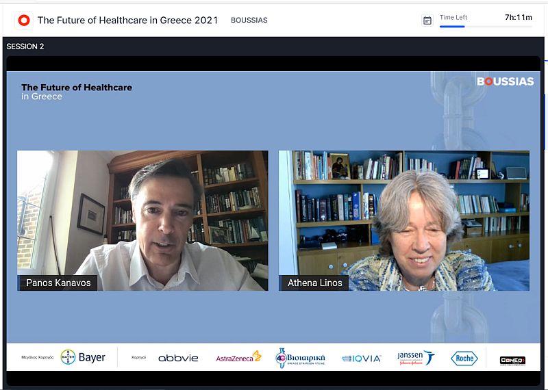 Μ. Δερμιτζάκης και Α. Λινού στο 11ο Συνέδριο The Future of Healthcare in Greece