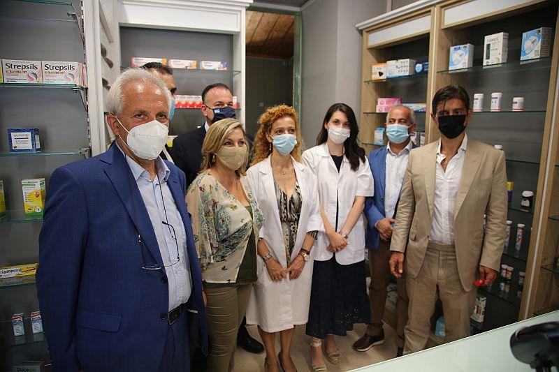 Εγκαίνια για νέο φαρμακείο στο Καστελλόριζο με την τιμητική ονομασία «Παύλος Γιαννακόπουλος»