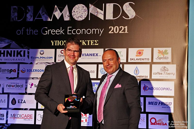 DEMO ΑΒΕΕ: Διάκριση στα «Diamonds of the Greek Economy 2021»