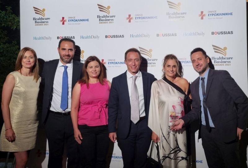 Xρυσή διάκριση για την AstraZeneca στα Healthcare Business Awards 2021