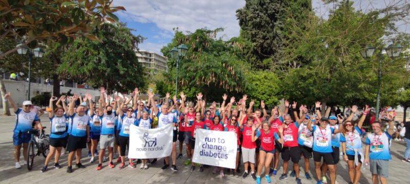 Run to change diabetes – Athens Half Marathon 2021 (1)